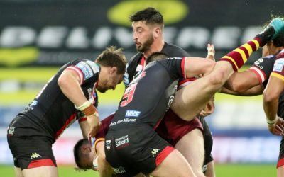 MATCH REPORT | HUDDERSFIELD GIANTS 8-9 SALFORD RED DEVILS | FRIDAY 18TH JUNE 2021