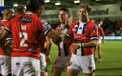 MATCH REPORT   SALFORD RED DEVILS 26-14 ST HELENS   FRIDAY 17TH SEPTEMBER 2021